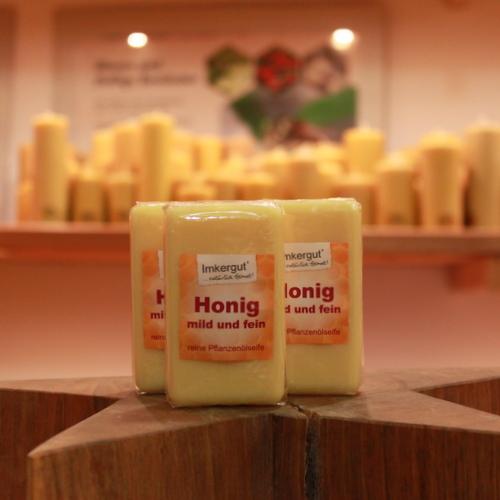 Honigseife mild und fein