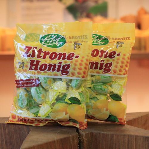Zitronen-Honig Bonbons